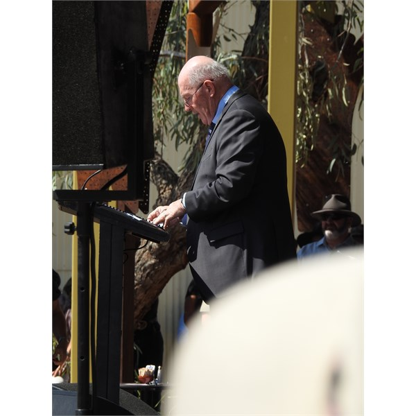 Governor-General, Sir Peter Cosgrove.