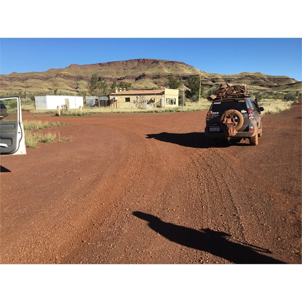Road into Wittenoom.