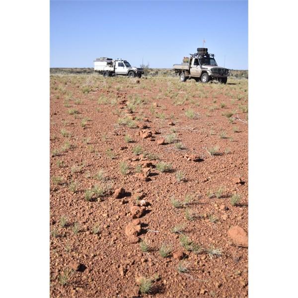 Guiding Line to Ceromonial Site