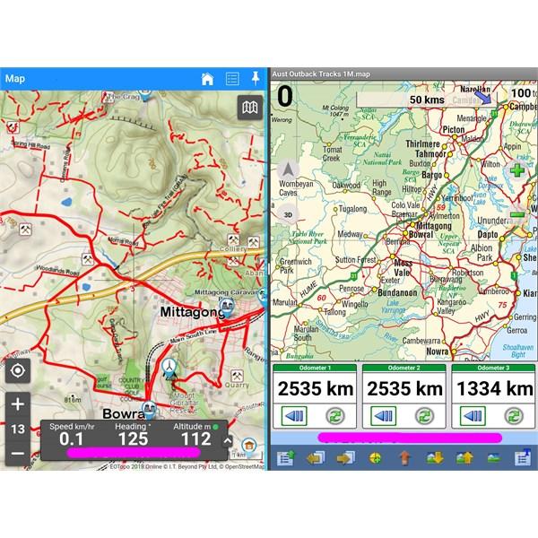 Samsun Galaxy Tab S2 9.7 split screen