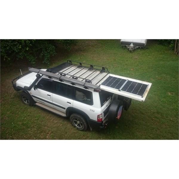 Slide out solar