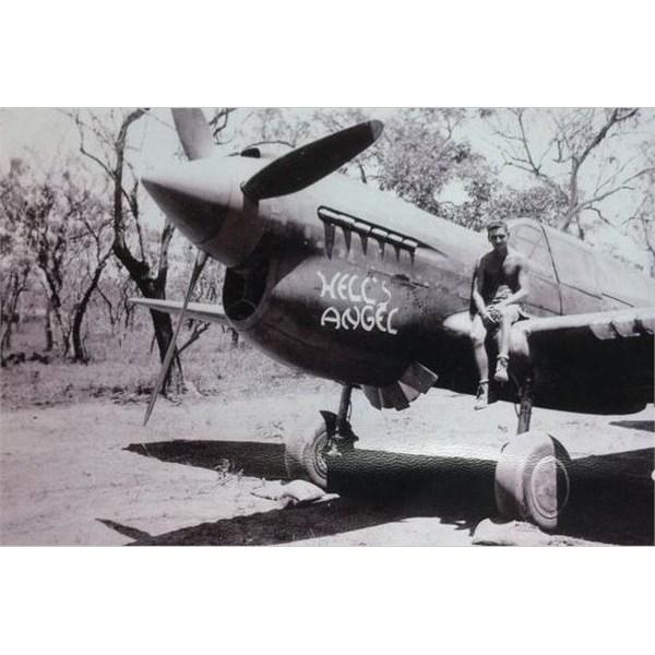 P40 Kittyhawk Hells Angel at Adelaide River