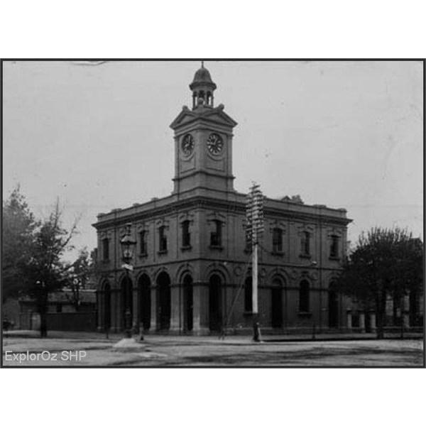 Albury Post Office 1907