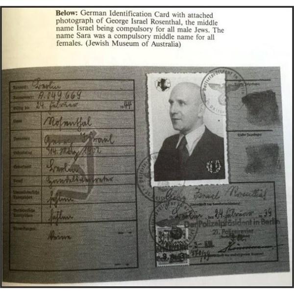 German Identification Card.