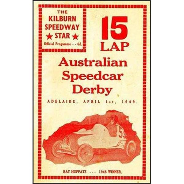 Kilburn Speedway Poster