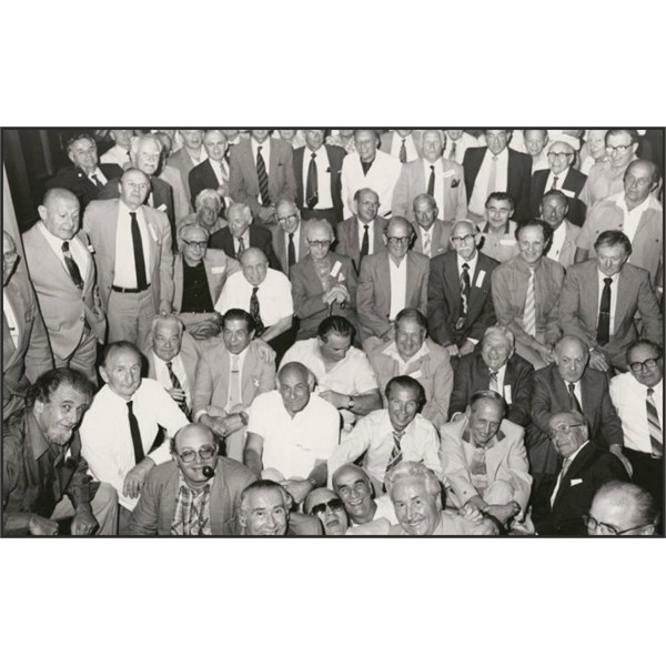 A reunion of the Dunera' boys held in Melbourne, November 1984