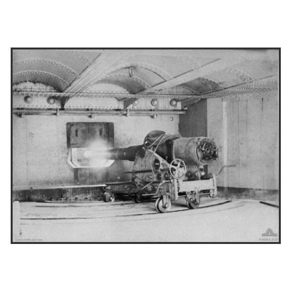 6 inch Mk V gun Georges Head 1892