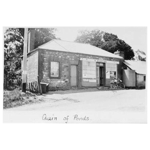 Chain of Ponds PO, 1901