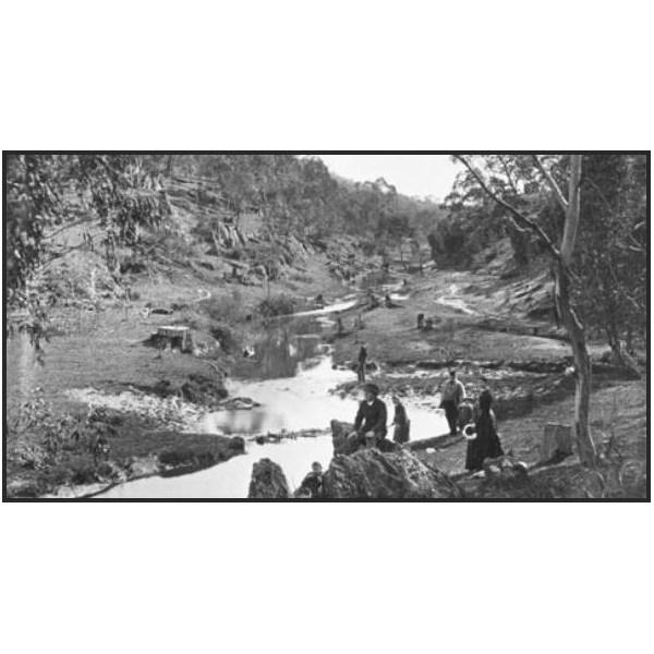 Chain of ponds south australia