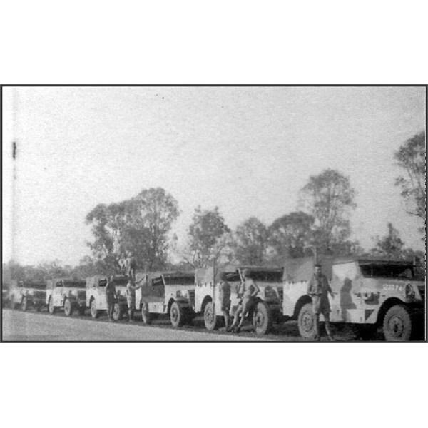 Scout Cars near Mataranka