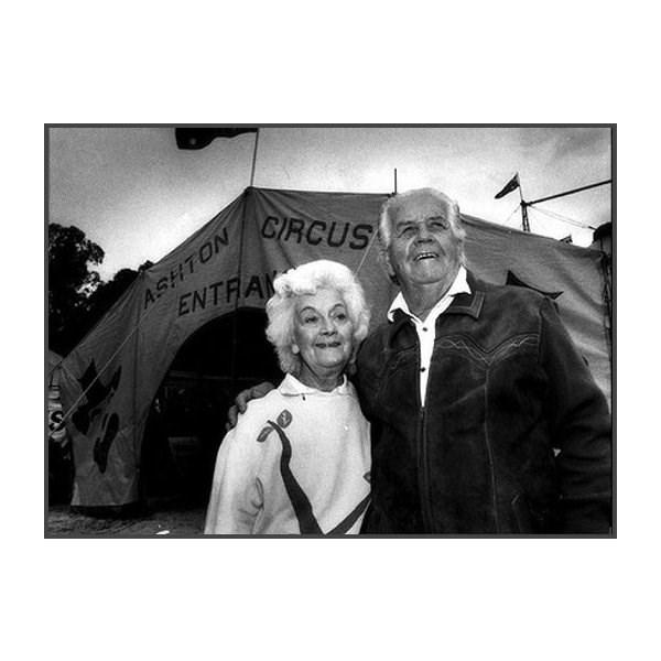 Phyllis and Doug Ashton, in 1992