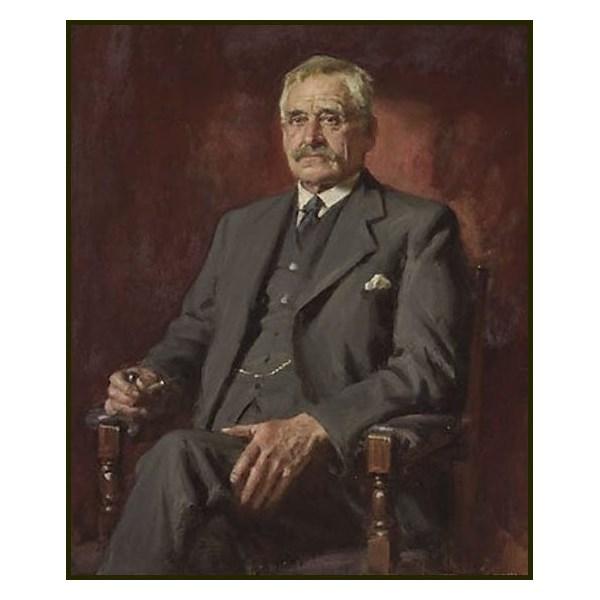 John Longstaff's portrait of Banjo Paterson, winner of the 1935 Archibald Prize