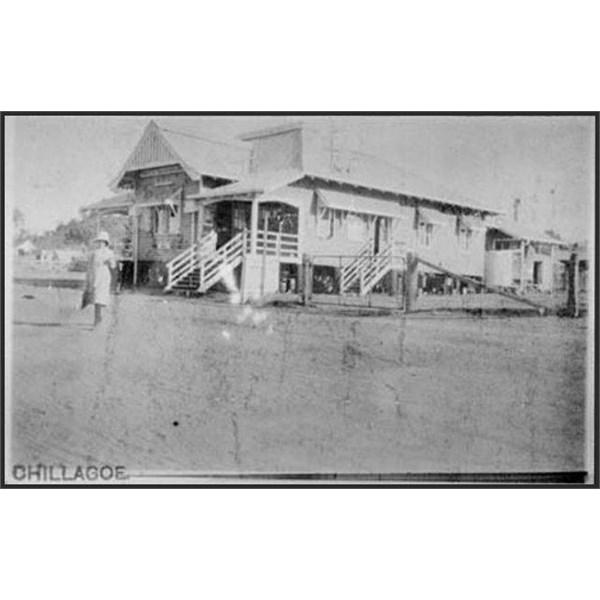 Chillagoe Post Office 1901