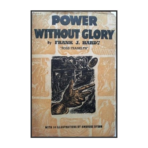 Front cover of the book Power Without Glory written by Frank Hardy