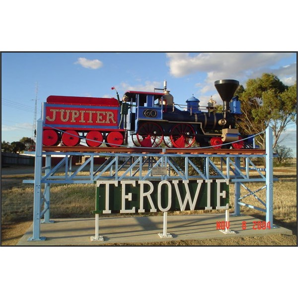 Train Monument at Terowie 1