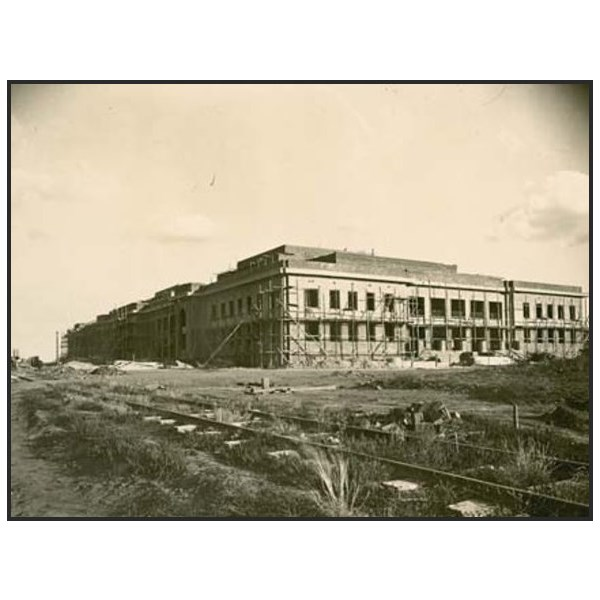 Old Parliament House during construction