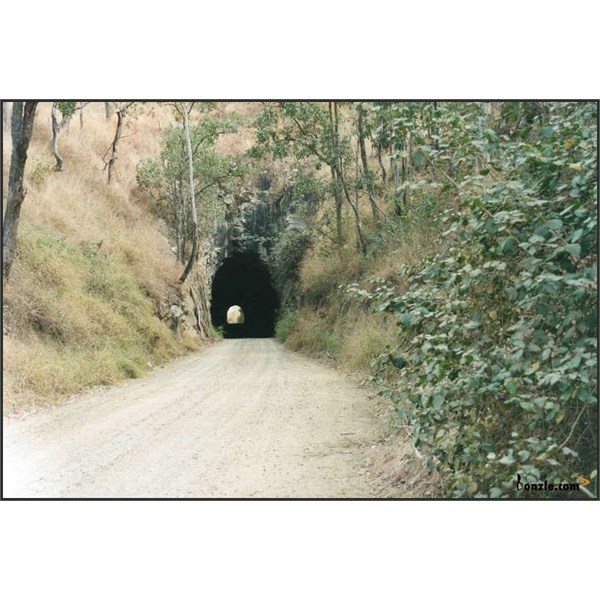 The Boolboonda Tunnel is off the main road about 9 Kms from Mount Perry.