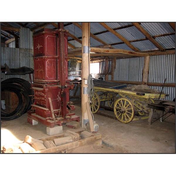 Koerstz wool press  at Tumbarumba NSW