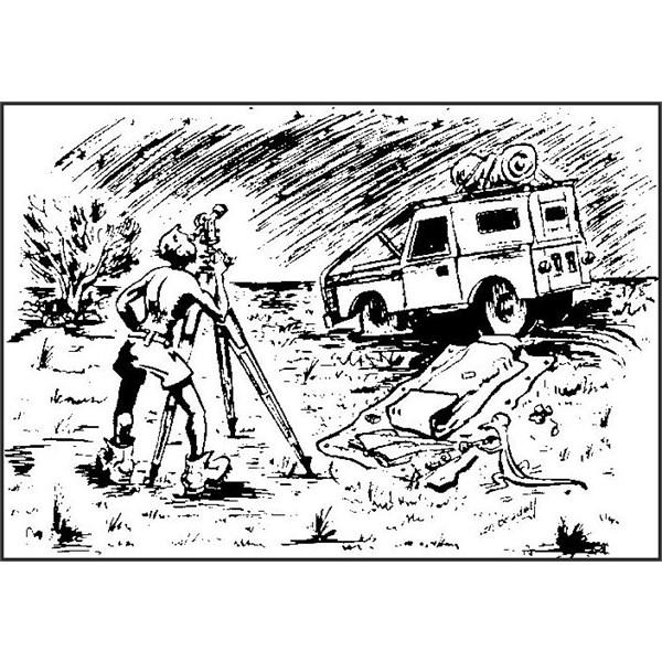 Len Beadell Cartoon