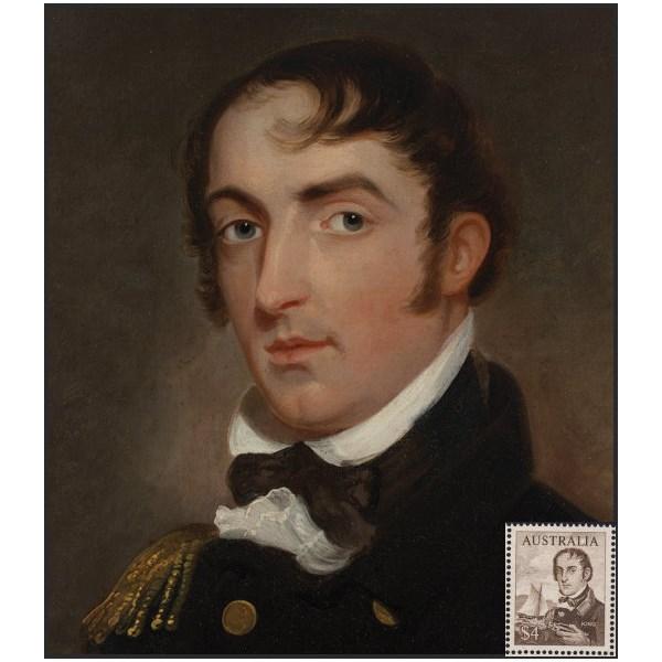 Portrait of Phillip Parker King