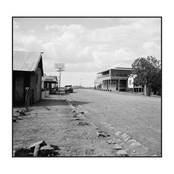 The main street of Wyndham, 1954