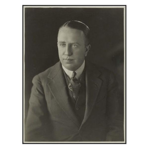 Jack O'Hagan, MBE.