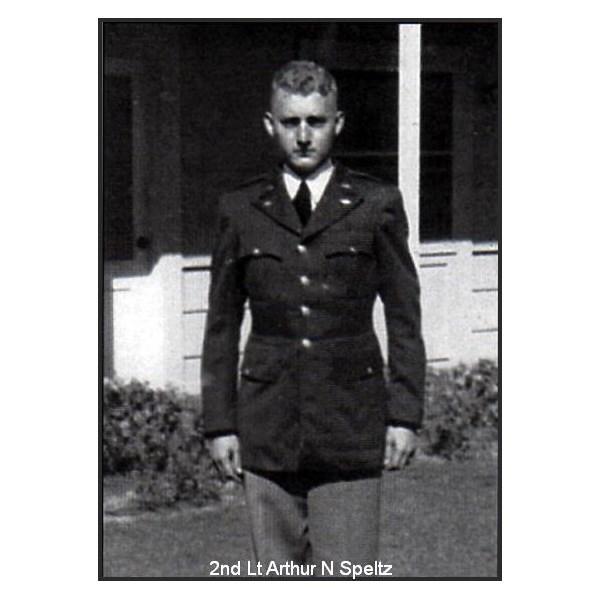 2nd Lt Arthur N Speltz