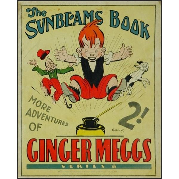 1931 ginger Meggs Sunbeams book