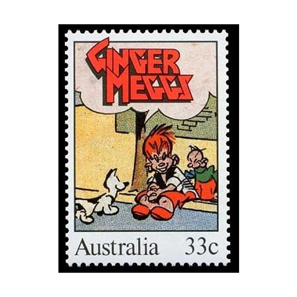 Ginger Meggs Australian Postage Stamp 1985 33 Cents