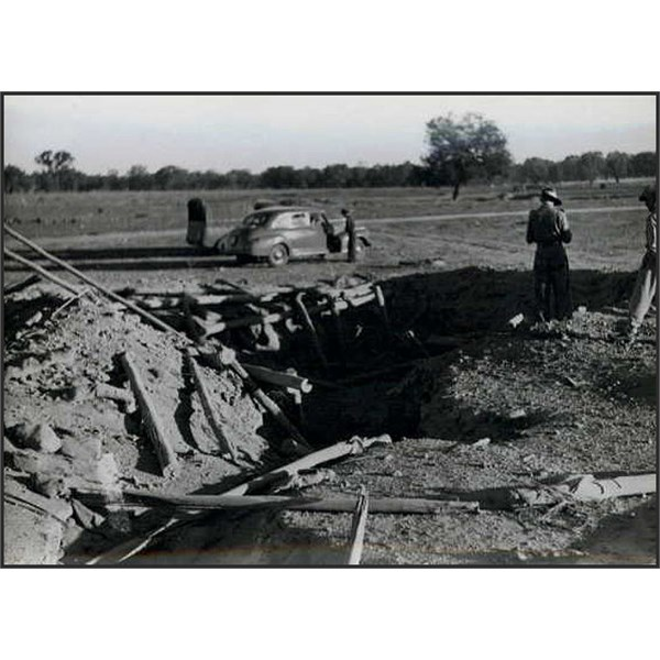 Dugout After Explosion