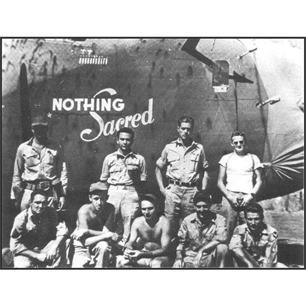 Nothing Sacred of the 529th Bomb Squadron, 380th Bomb Group