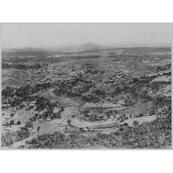 Aerial Veiw of Springsure, 1930