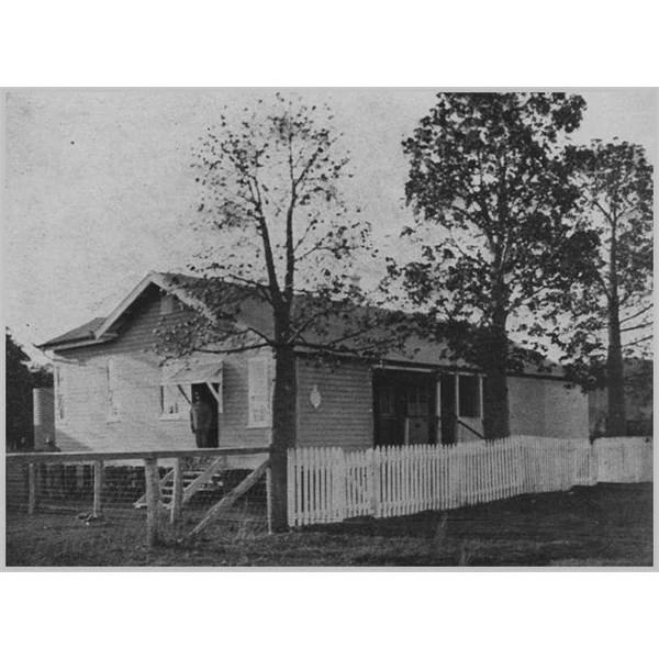 Police Station at Springsure, 1930