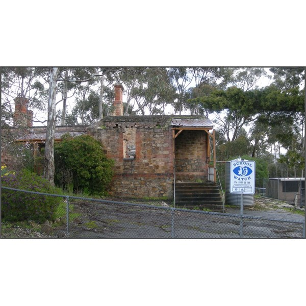 Millbrook School Ruins, caused by the Ash Wednesday Bushfire, my photo from 2007