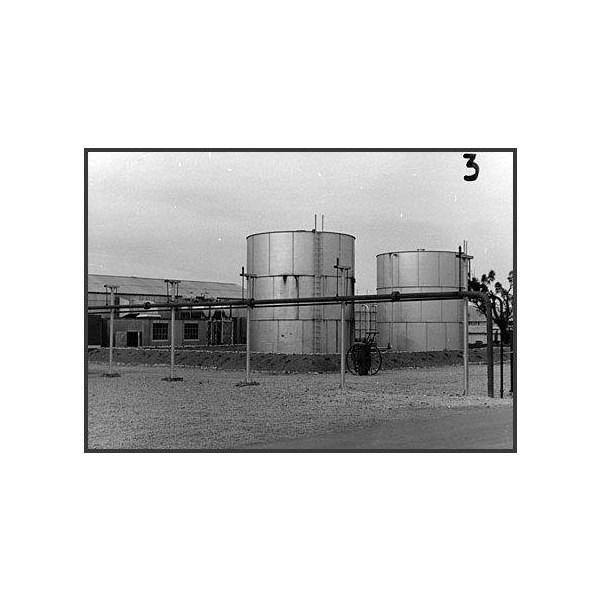 Dieselene fuel tanks - Maralinga Village Power House