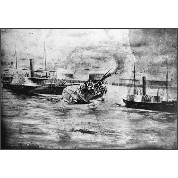 The Pearl ferry disaster on the Brisbane River (13 February 1896)