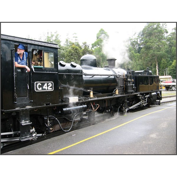 Puffing Billy Railway Garratt Locomotive G42