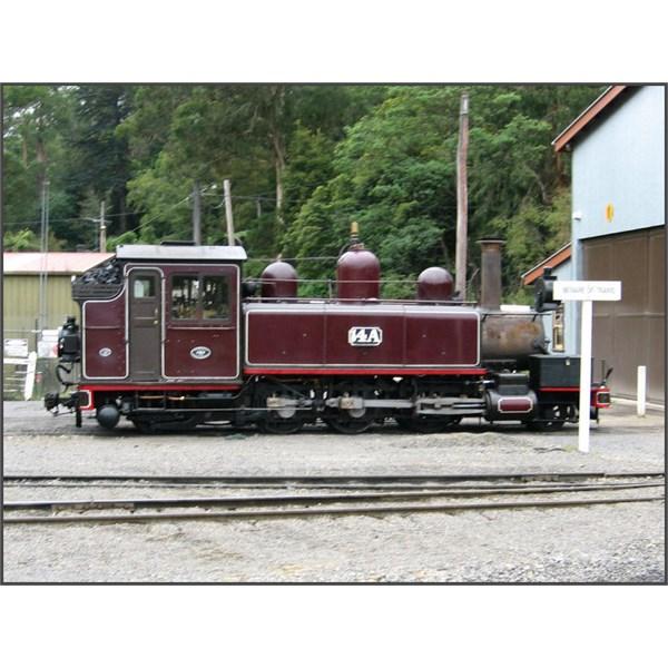 Puffing Billy Railway steam locomotive No. 14A