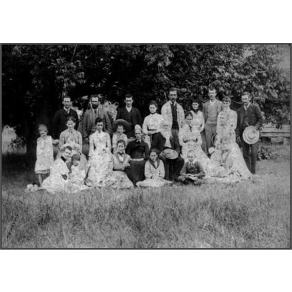 Mr & Mrs C.L McDonald & Family 1890