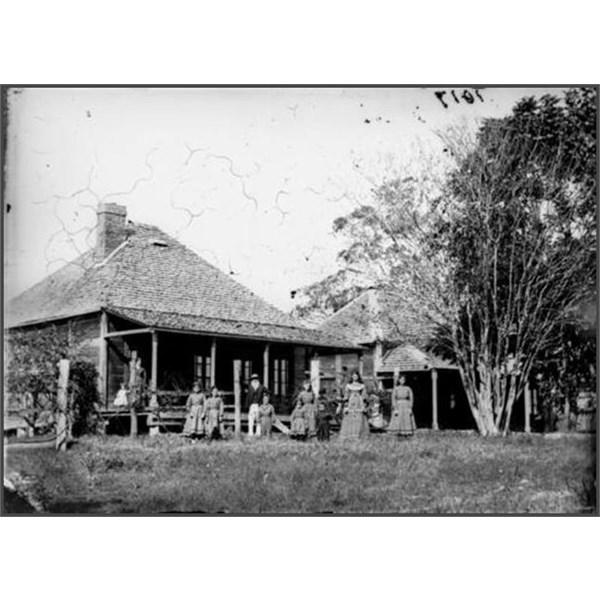 Bromelton House, Albert River District 1872