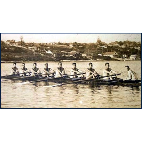 1933 NSW King's Cup crew