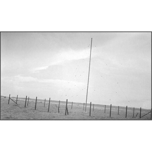 Derby Teleradio transmitter mast 1944