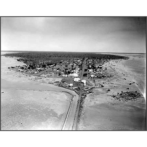 Derby from the air 1954
