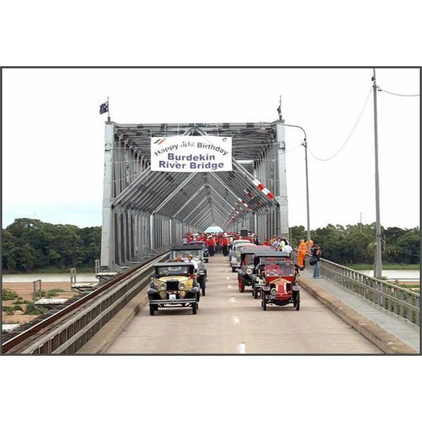 Burdikin Bridge 50th year