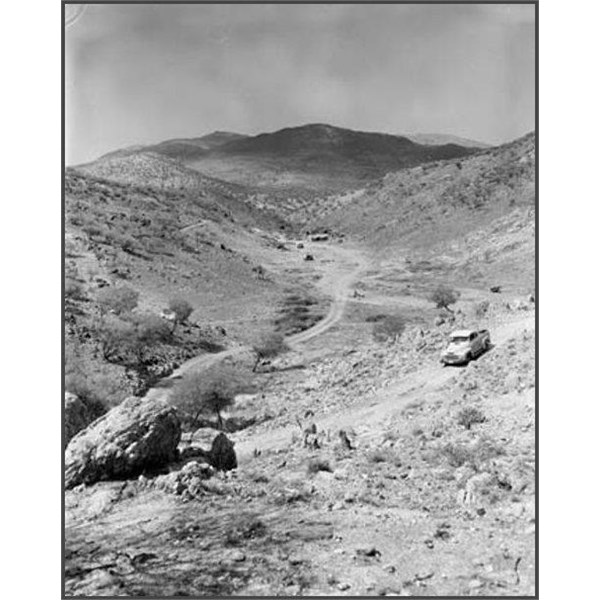 The Spotted Tiger mica mine in the Harts Range 1958
