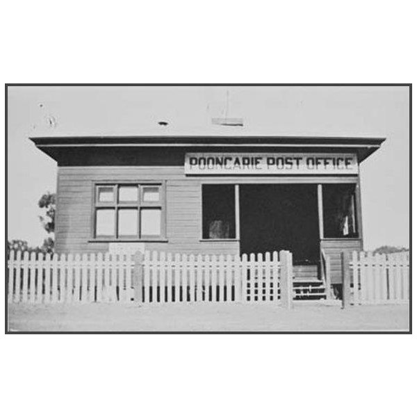 Pooncarie post office 1933