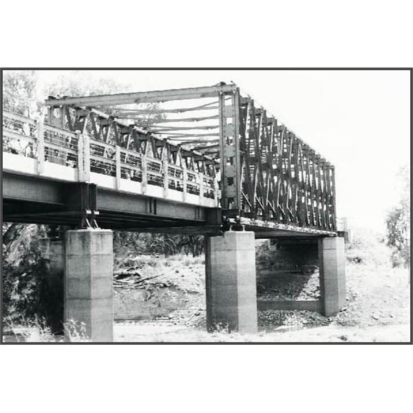 Darling Bridge, Pooncarie 1963