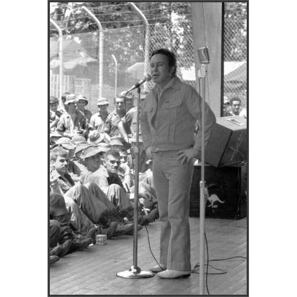J.O.K at Luscombe Bowl , Nui Dat 1969
