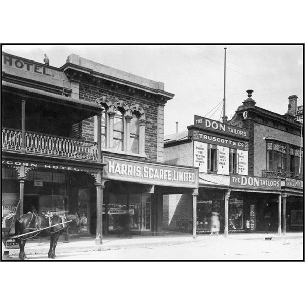 Harris Scarfe Limited, Rundle Street, south side, 1922