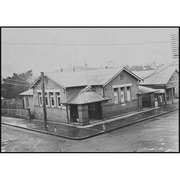Murwillumbah post office, 1921
